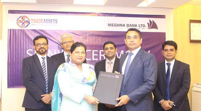 TradeAssets signs on MeghnaBank on it's e-commerce trading platform
