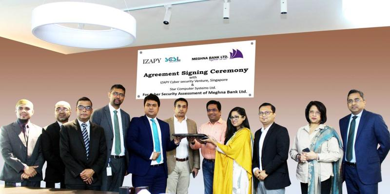 Meghna Bank Ltd partnered with IZAPY Cyber Security Venture